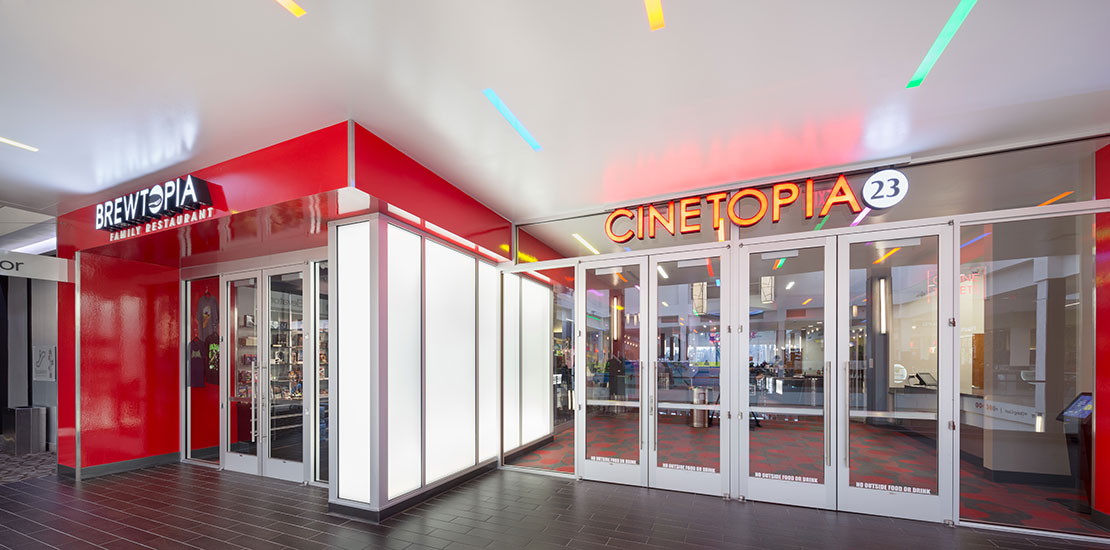 Cinetopia Westfield Vancouver Mall Gallery