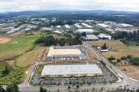 Light industrial warehouse building in Tualatin Oregon